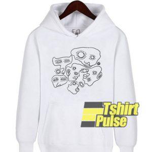 Weird Lookin Dudes hooded sweatshirt clothing unisex