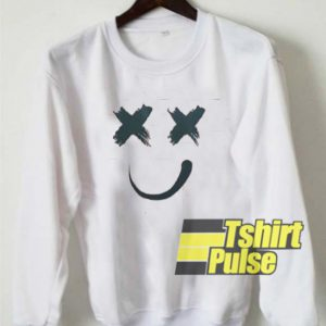 X Smiley sweatshirt
