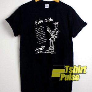 80s Fido Dido t-shirt for men and women tshirt