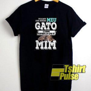 Cat Desculpe Estou t-shirt for men and women tshirt