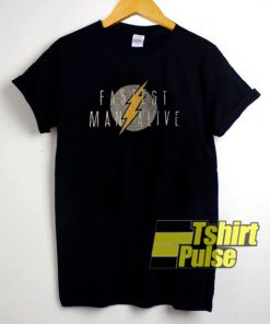 Fastest Man Alive t-shirt for men and women tshirt