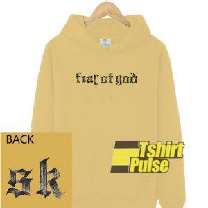 Fear of God SK hooded sweatshirt clothing unisex hoodie