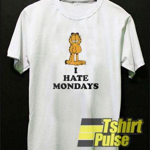 Garfied I Hate Mondays t-shirt for men and women tshirt