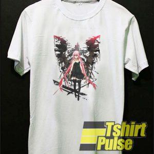 Gasai Yuno Anime Future t-shirt for men and women tshirt