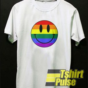 Gay Smiley Face t-shirt for men and women tshirt