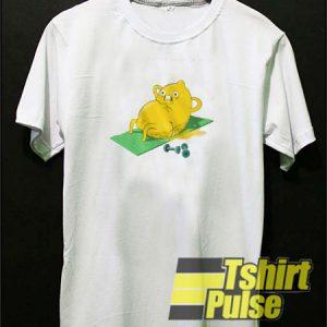 Lemon Sleeping t-shirt for men and women tshirt