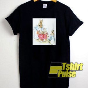Mrs Rabbit Warns About The Garden t-shirt for men and women tshirt