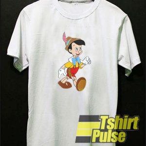 Pinocchio Walk t-shirt for men and women tshirt