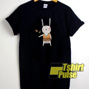 Tribal Bunny Rabbit t-shirt for men and women tshirt