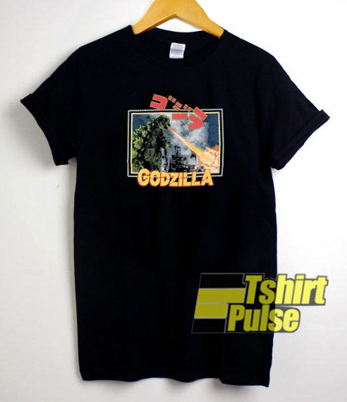 Vintage 90's Godzilla t-shirt for men and women tshirt