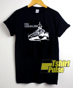 Vintage Uss Chevalier t-shirt for men and women tshirt