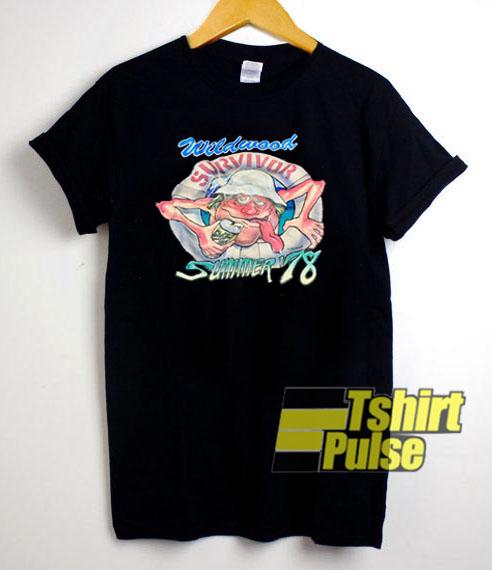 Wildwood Survivor Summer 1978 t-shirt for men and women tshirt
