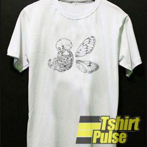 Winged Skull t-shirt for men and women tshirt