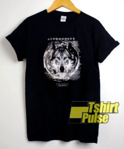 Wolf Attractive Dark Side Of The Moon t-shirt for men and women tshirt