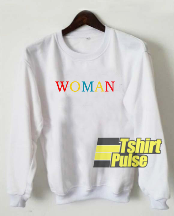 Woman Colors sweatshirt