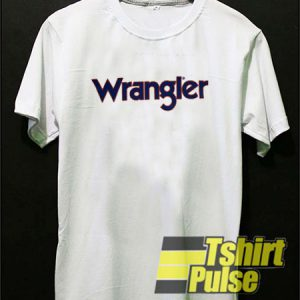 Wrangler t-shirt for men and women tshirt