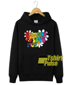 1967 Summer of Love hooded sweatshirt clothing unisex hoodie