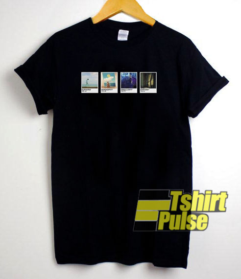BTS Vocal Line Pantone Card t-shirt for men and women tshirt