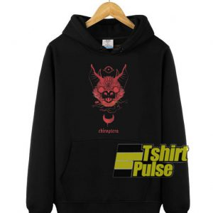 Chiroptera Bat hooded sweatshirt clothing unisex