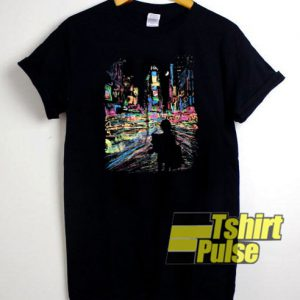 Cityscape t-shirt for men and women tshirt