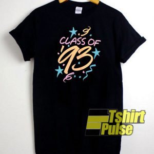 Class of '93 t-shirt for men and women tshirt