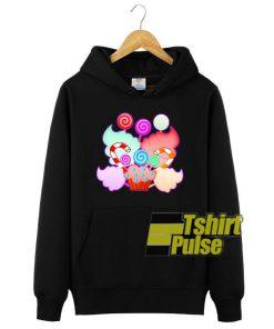 Colorful Candies Lollipops hooded sweatshirt clothing unisex