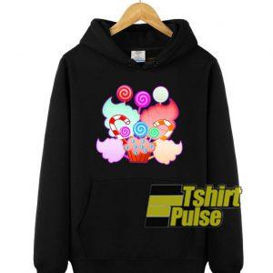 Colorful Candies Lollipops hooded sweatshirt clothing unisex hoodie