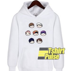 Cute BTS Members hooded sweatshirt clothing unisex hoodie