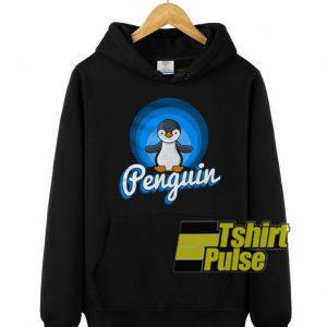 Cute Penguin hooded sweatshirt clothing unisex hoodie