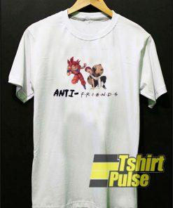 DBZ x Gaara Anti Friend t-shirt for men and women tshirt