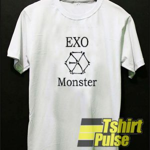 EXO Monster Logo t-shirt for men and women tshirt