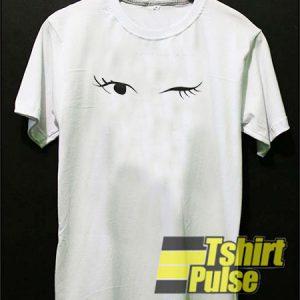 Eye Scalloped t-shirt for men and women tshirt