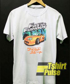 Fast And Furious Japanese t-shirt for men and women tshirt