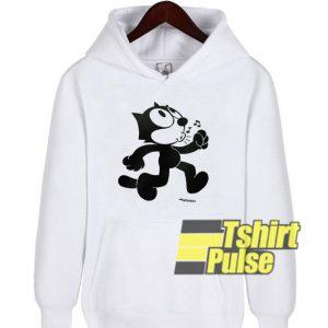 Felix The Cat Singing hooded sweatshirt clothing unisex hoodie