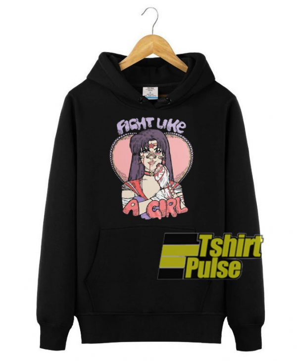 Fight Like A Sailor hooded sweatshirt clothing unisex