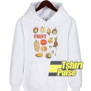 Fruits hooded sweatshirt clothing unisex hoodie