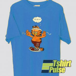 Garfield Are Gymnastics t-shirt for men and women tshirt