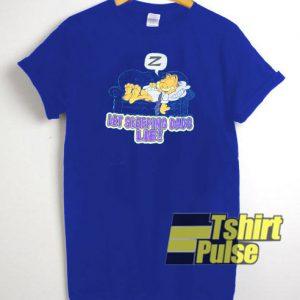 Garfield Let Sleeping Dads Lie t-shirt for men and women tshirt
