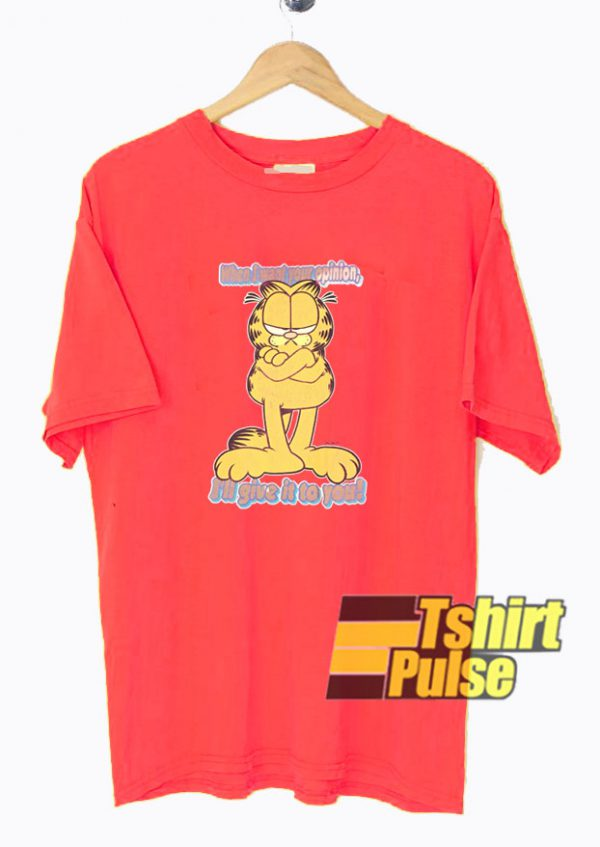 Garfield Opinion t-shirt for men and women tshirt