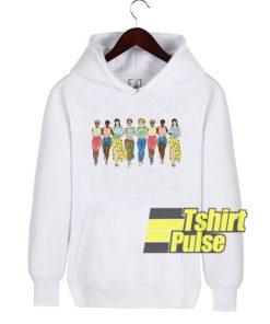 Girl Feminist hooded sweatshirt clothing unisex