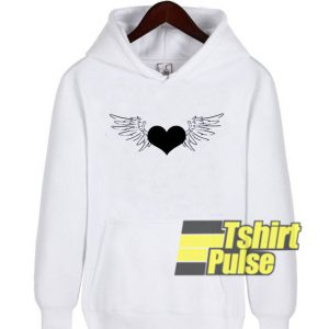 Heart With Wings hooded sweatshirt clothing unisex hoodie