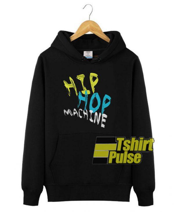 Hip Hop Machine hooded sweatshirt clothing unisex hoodie