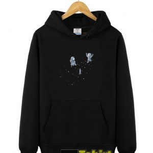 Hopscotch Astronauts hooded sweatshirt clothing unisex hoodie