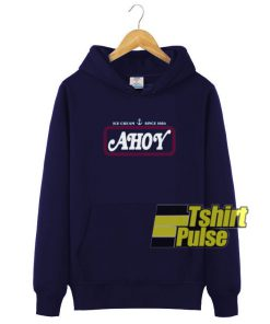 Ice Cream Ahoy Since 1984 hooded sweatshirt clothing unisex