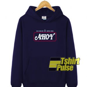 Ice Cream Ahoy Since 1984 hooded sweatshirt clothing unisex hoodie