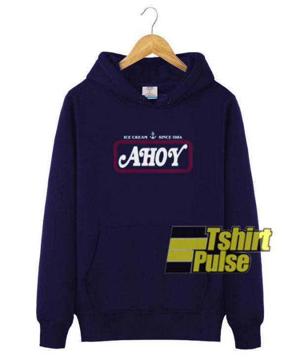 Ice Cream Ahoy Since 1984 hooded sweatshirt clothing unisex hoodie