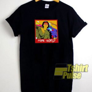 J-hope Hope World t-shirt for men and women tshirt