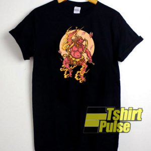 Japan Demon Hipster t-shirt for men and women tshirt