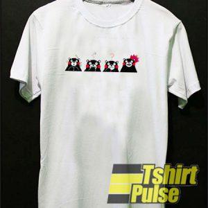 Japanese Anime Kumamon t-shirt for men and women tshirt