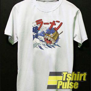 Japanese Ramen Monster t-shirt for men and women tshirt